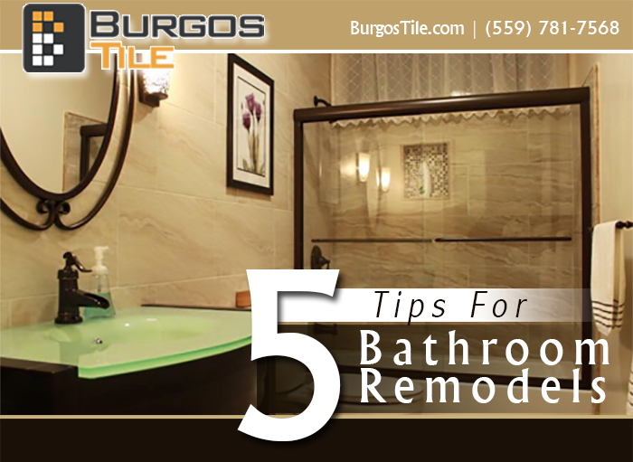 5 Tips BathroomRemodels