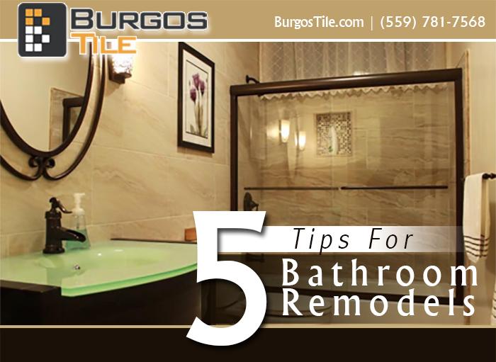 5 Tips BathroomRemodels